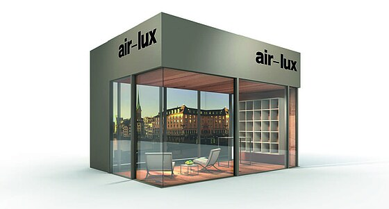 air lux showroom next frankfurt air. Black Bedroom Furniture Sets. Home Design Ideas